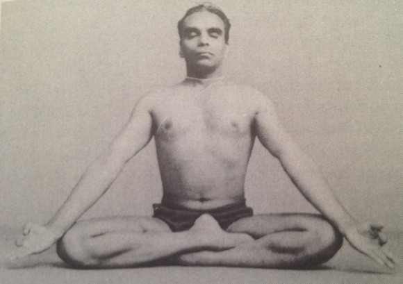 The young BKS Iyengar
