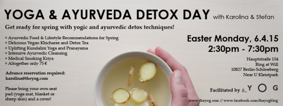 yoga ayurveda detox workshop berlin